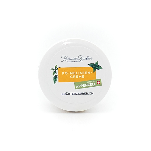 "Po-Melissencreme ""Made in Appenzell"""